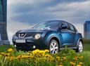 Фото авто Nissan Juke YF15, ракурс: 45 цвет: синий