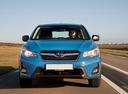 Фото авто Subaru XV 1 поколение [рестайлинг],  цвет: голубой