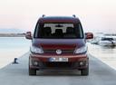 Фото авто Volkswagen Caddy 3 поколение [рестайлинг],  цвет: красный