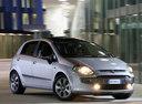 Фото авто Fiat Punto 3 поколение [рестайлинг], ракурс: 315 цвет: серый