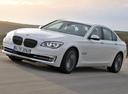 Фото авто BMW 7 серия F01/F02 [рестайлинг], ракурс: 45 цвет: белый