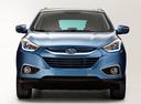 Фото авто Hyundai ix35 1 поколение [рестайлинг],  цвет: голубой