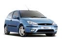 Фото авто Ford Focus 1 поколение [рестайлинг], ракурс: 315 цвет: голубой