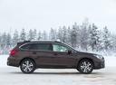 Фото авто Subaru Outback 5 поколение [рестайлинг], ракурс: 270 цвет: коричневый