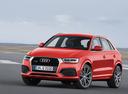 Фото авто Audi Q3 8U [рестайлинг], ракурс: 45 цвет: красный