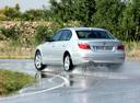 Фото авто BMW 5 серия E60/E61 [рестайлинг], ракурс: 135 цвет: серебряный
