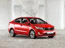 Фото авто Kia Rio 3 поколение, ракурс: 315 цвет: красный