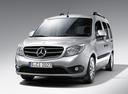 Фото авто Mercedes-Benz Citan W415, ракурс: 45 цвет: серебряный