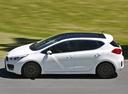 Фото авто Kia Cee'd 2 поколение, ракурс: 90 цвет: белый