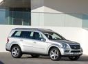 Фото авто Mercedes-Benz GL-Класс X164 [рестайлинг], ракурс: 315 цвет: серебряный