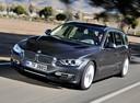 Фото авто BMW 3 серия F30/F31/F34, ракурс: 45 цвет: серый