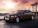 Фото авто Rolls-Royce Ghost 2 поколение, ракурс: 45 цвет: коричневый