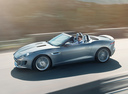 Фото авто Jaguar F-Type 1 поколение, ракурс: 90 цвет: серый