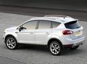Фото авто Ford Kuga 1 поколение, ракурс: 135 цвет: белый