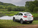 Фото авто Hyundai Creta 1 поколение, ракурс: 135 цвет: белый