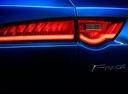 Фото авто Jaguar F-Pace 1 поколение, ракурс: задние фонари цвет: синий