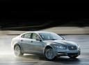 Фото авто Jaguar XF X250, ракурс: 315 цвет: серебряный