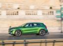 Фото авто Mercedes-Benz GLA-Класс X156 [рестайлинг], ракурс: 90 цвет: зеленый