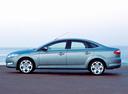 Фото авто Ford Mondeo 4 поколение, ракурс: 90 цвет: голубой