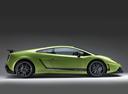 Фото авто Lamborghini Gallardo 1 поколение, ракурс: 270 цвет: зеленый