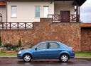 Фото авто Renault Logan 1 поколение [рестайлинг], ракурс: 90 цвет: синий