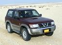 Фото авто Nissan Patrol Y61, ракурс: 315 цвет: бордовый