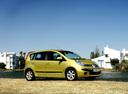 Фото авто Nissan Note E11, ракурс: 315 цвет: желтый