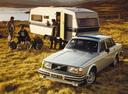 Фото авто Volvo 240 1 поколение, ракурс: 45 цвет: серый