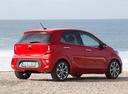 Фото авто Kia Picanto 3 поколение, ракурс: 225 цвет: красный