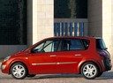 Фото авто Renault Scenic 2 поколение, ракурс: 90 цвет: красный