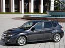 Фото авто Subaru Impreza 3 поколение [рестайлинг], ракурс: 45 цвет: серый