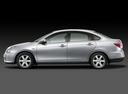 Фото авто Nissan Almera G11, ракурс: 90 - рендер цвет: серебряный