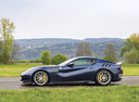 Фото авто Ferrari F12berlinetta 1 поколение, ракурс: 90 цвет: синий