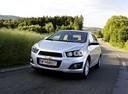 Фото авто Chevrolet Aveo T300,  цвет: серебряный