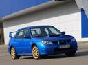 Фото авто Subaru Impreza 2 поколение [2-й рестайлинг], ракурс: 315 цвет: синий