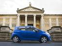 Фото авто Chevrolet Spark M300, ракурс: 270 цвет: синий