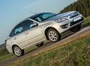 Фото авто ВАЗ (Lada) Granta 1 поколение, ракурс: 315 цвет: бежевый