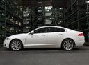 Фото авто Jaguar XF X250 [рестайлинг], ракурс: 90 цвет: белый
