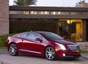 Фото авто Cadillac ELR 1 поколение, ракурс: 315 цвет: красный