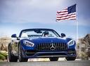 Фото авто Mercedes-Benz AMG GT C190 [рестайлинг],  цвет: голубой