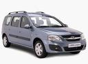 Фото авто ВАЗ (Lada) Largus 1 поколение, ракурс: 315 - рендер цвет: синий