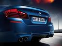 Фото авто BMW M5 F10 [рестайлинг], ракурс: задняя часть