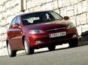 Фото авто Chevrolet Lacetti 1 поколение, ракурс: 315 цвет: красный