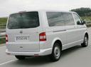 Фото авто Volkswagen Multivan T5, ракурс: 225 цвет: серебряный