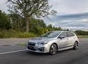 Фото авто Subaru Impreza 5 поколение, ракурс: 45 цвет: серебряный