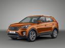 Фото авто Hyundai Creta 1 поколение, ракурс: 45 - рендер цвет: оранжевый