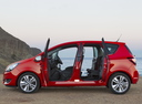 Фото авто Opel Meriva 2 поколение [рестайлинг], ракурс: 90 цвет: красный