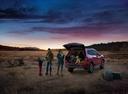 Фото авто Subaru Forester 5 поколение, ракурс: 225 цвет: красный