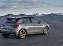 Фото авто Audi A1 2 поколение, ракурс: 225 цвет: серый