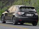 Фото авто Subaru Impreza 3 поколение [рестайлинг], ракурс: 135 цвет: черный